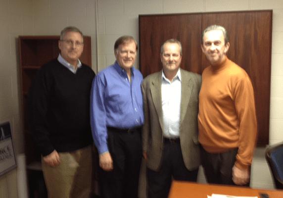 Rick Spohn, Greg Waleke, John Hagan, Jerry Hosko