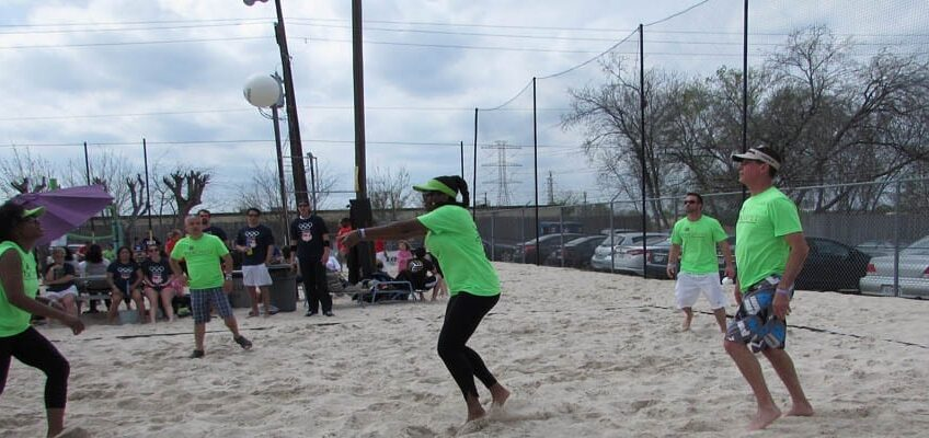 houston apartment association volleyball