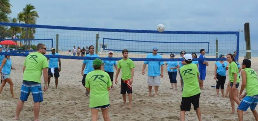 redi carpet south east florida apartment association volleyball tournament