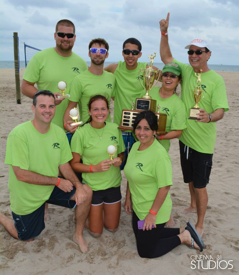South East Florida Apartment Association Volleyball
