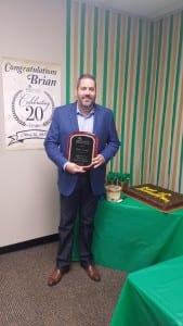 Brian - 20 Year Anniversary