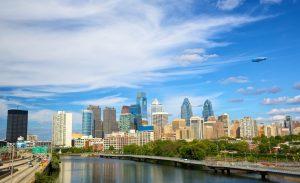 Philadelphia downtown, Pennsylvania, USA